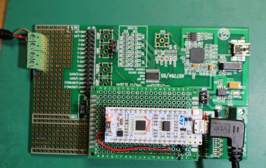 【MAFS2019】AD7794評価基板にNucleoL432KC搭載<SPI接続調査>