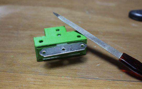 【5月11日】6分力計<3DPで板金インサート補強>