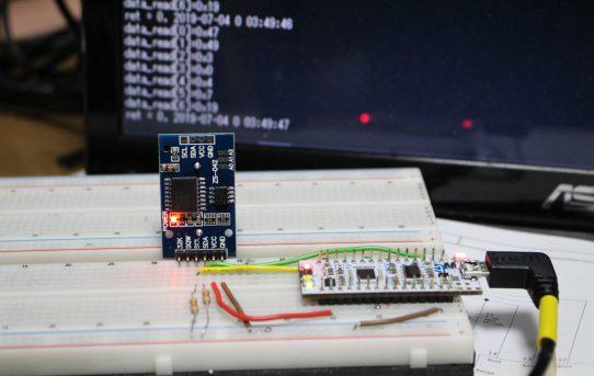 【パワーメーター2019】RTC_DS3231をmbed接続<ライブラリー無し>